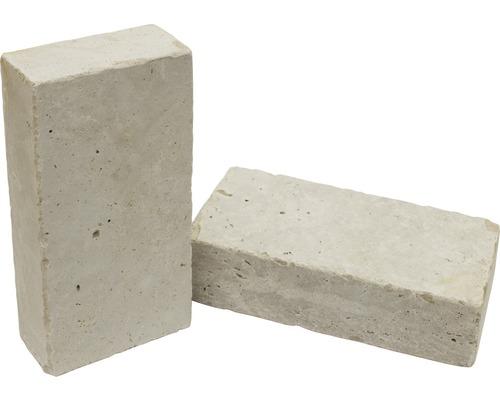 Flairstone Universalstein Flairstone Roma Travertin beige getrommelt 24 x 12 x 6 cm