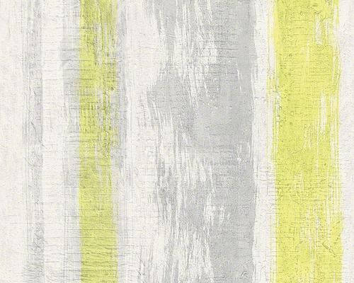 Vliestapete 94425-1 Schöner Wohnen 6 Streifen grau grün
