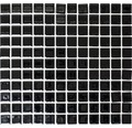Keramikmosaik B 890 30,2x33 cm schwarz