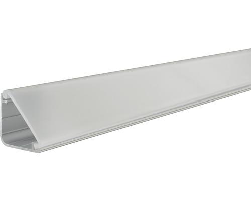 Paulmann Aluminium Profil Delta mit Diffusor alu/eloxiert 2,0 m