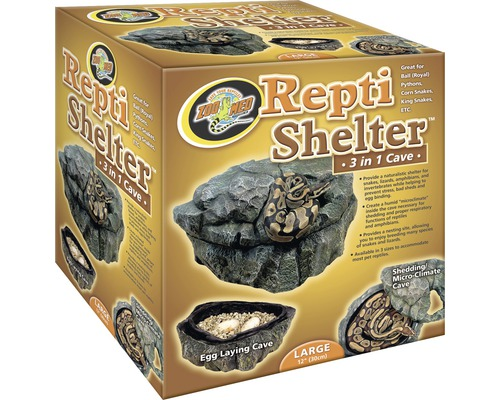 Höhle Zoo Med 3 in 1 Repti Shelter, Groß