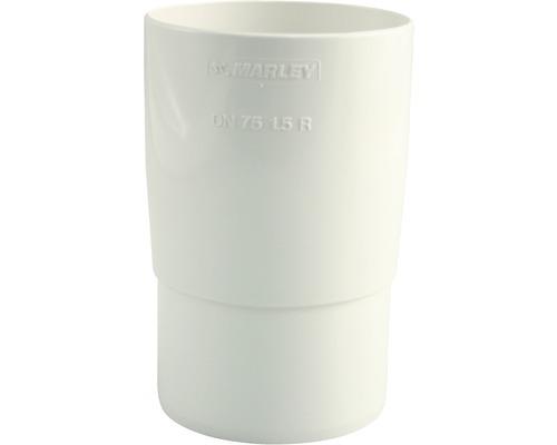 Marley Rohrmuffe Nennweite 75mm weiß
