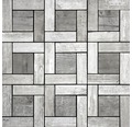Feinsteinzeugmosaik Chalet Silver 30x30 cm