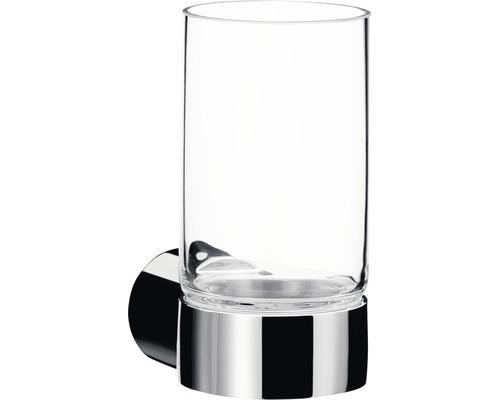Glashalter Emco Fino chrom/Kirstallglas klar 842000100