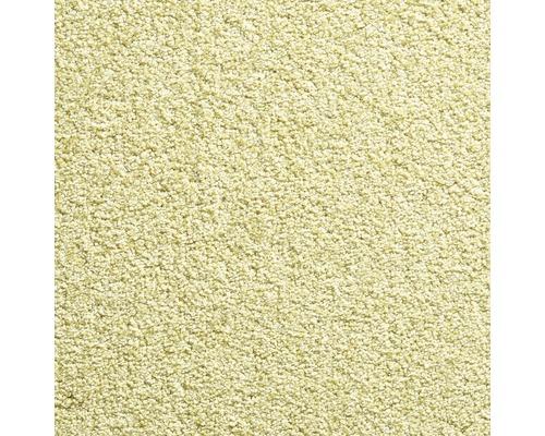 Teppichboden Frisé Buffalo grün 500 cm (Meterware)