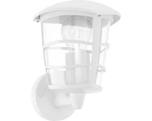 Außenwandleuchte 1-flammig H 225 mm Aloria weiß