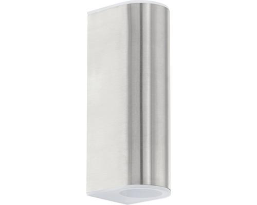 LED Außenwandleuchte 2x2,5W 2x180 lm 3000 K warmweiß H 210 mm Cabos edelstahl/satiniert
