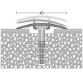 Übergangsprofil Alu D.O.S. bronze 40x1000 mm