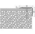 Treppenkantenprofil Alu gold gelocht 30x20x1000 mm