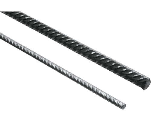 Torstahl gerippt Ø 6 mm Länge 2 m nach DIN 488
