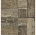 Feinsteinzeugmosaik Salvage brown 33x33 cm