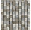 Feinsteinzeug Wandfliese Lux Grey 30 x 30 cm
