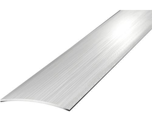 Übergangsprofil Edelstahl gebürstet selbstklebend 30x1000 mm