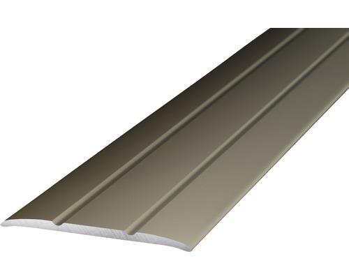 Übergangsprofil Alu edelstahl matt selbstklebend 38x2700mm