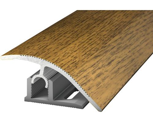 Anpassungsprofil PROFI-TEC MASTER Alu eiche dunkel 47x900mm