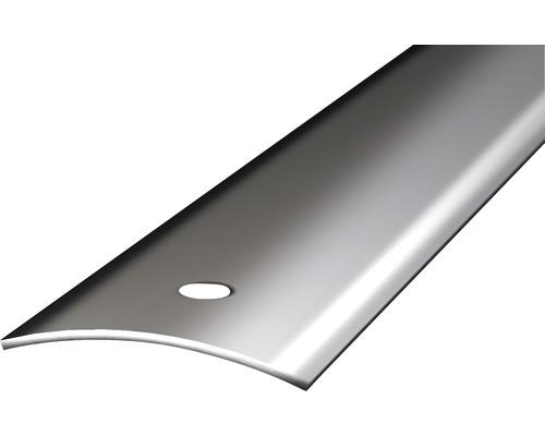 Übergangsprofil Edelstahl spiegelblank gelocht 40x1000 mm
