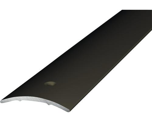 Übergangsprofil Alu bronze gelocht 30x1000 mm