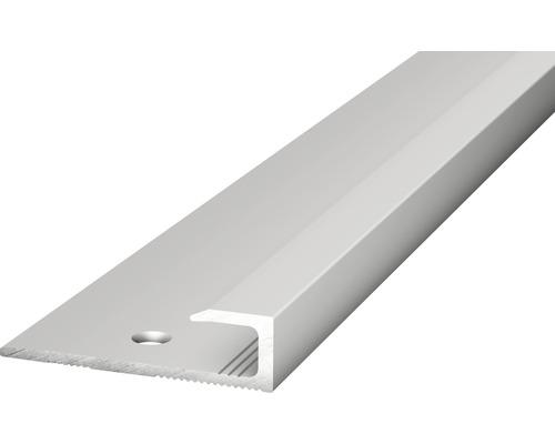 Abschlussprofil Alu silber gelocht 30x5x1000 mm