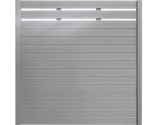 Zaunelement BuildiFix-Zauntyp D 180x180 cm grau