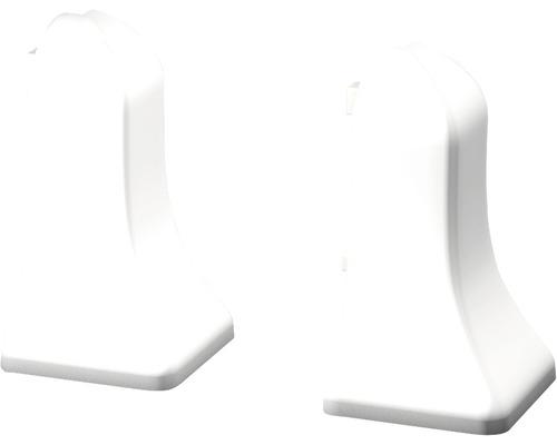 Außenecken für Sockelleisten geschäumt weiss (2 Stück)