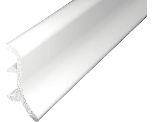 Sockelleiste geschäumt weiß 48x2500 mm