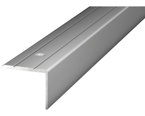 Winkelprofil Alu silber gelocht 24,5x20x1000 mm