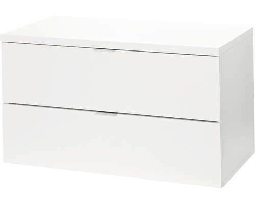 Regalsideboard Walk-In, 794x450x400 mm weiß