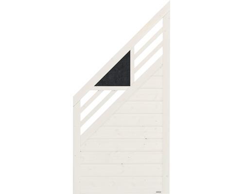 Abschlusselement Konsta Andria links 90 x 180/90 cm, creme