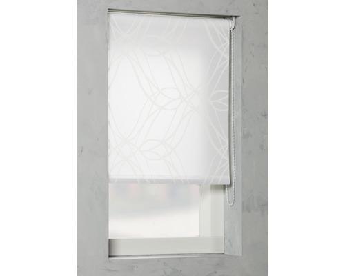 Soluna Tageslichtrollo D1, Ornament weiß, 150x190 cm