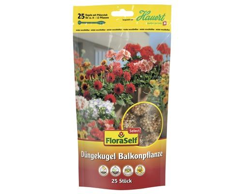 Balkonpflanzen-Düngekugel FloraSelfSelect 25 Stk