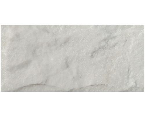Wandverblender Naturstein Marm. Arctic White 0,5 qm