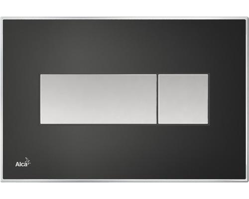 Betätigungsplatte Komfort M1475-AEZ114 mit rainbow Beleuchtung schwarz-matt/chrom