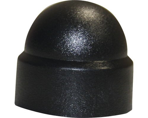 Sechskantschutzkappe Ø 5 mm schwarz, 100 Stück
