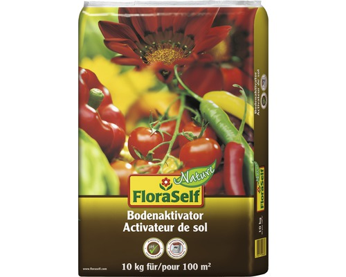 Bodenaktivator FloraSelf Nature 10 kg 100 m²