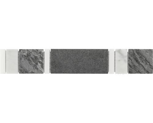 Bordüre grau 4,8x29,8 cm