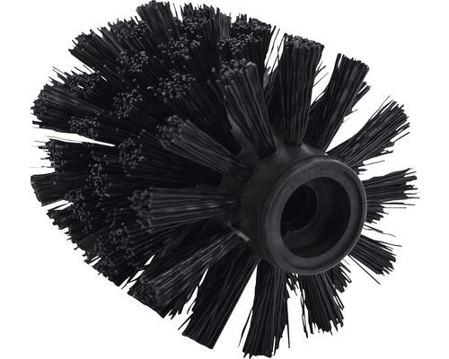 Ersatz-Bürstenkopf schmal 72 mm schwarz