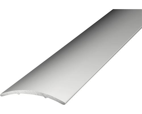 Übergangsprofil Alu silber selbstklebend 30x1000 mm