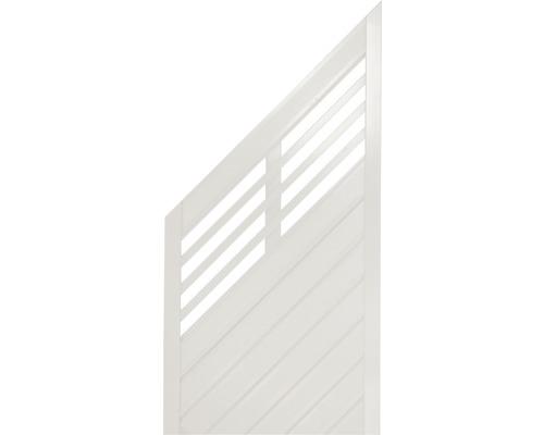 Abschlusselement Konsta Style links 90 x 180/90 cm, creme
