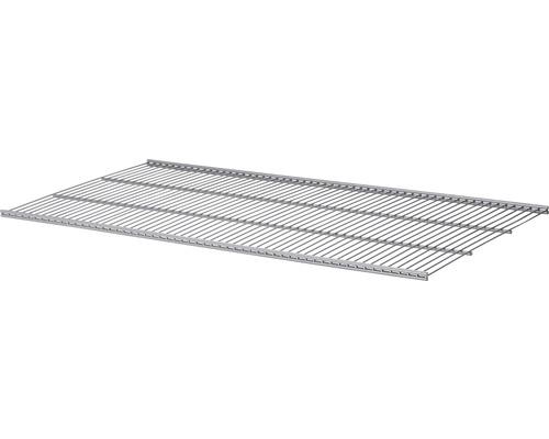 Drahtgitterfachboden Set 800x10x406 mm silber