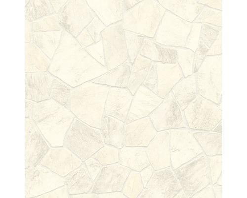 PVC Seattle Fliesenoptik weiß 200 cm breit (Meterware)
