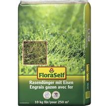 Rasendünger FloraSelf mit Eisen 10 kg 250 m²