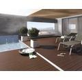 Terrassendiele WPC Mittelbraun ab 1000x145x25 mm