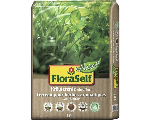 Kräutererde FloraSelf Nature torffrei 10 L