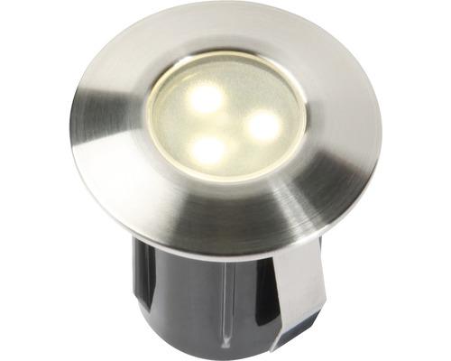 LED Einbauleuchte IP67 Erweiterung zu 3er Set 1x0,5W edelstahl 4057601 42x45 mm