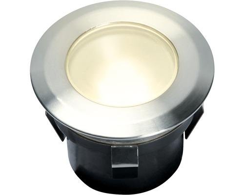 LED Einbauleuchte IP67 Erweiterung 1x1W 10 lm 3000 K warmweiß edelstahl 12V