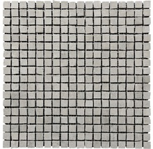 Feinsteinzeugmosaik Arcadia grigio 30x30 cm