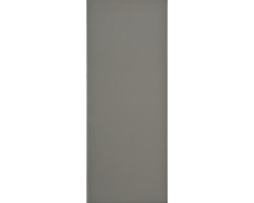 Steingut Wandfliese Loft gris 20 x 50 cm