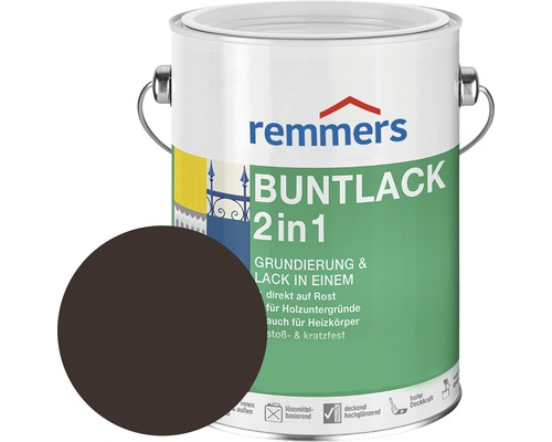 Remmers Buntlack 2in1 RAL 8017 schokobraun 375 ml