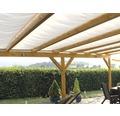 Seilspann-Sonnensegel elfenbein 330x200 cm