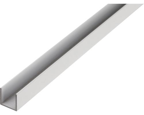 U-Profil Aluminium 15x15x15x1,5 mm, 1 m